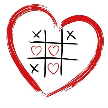 heart tic tac toe