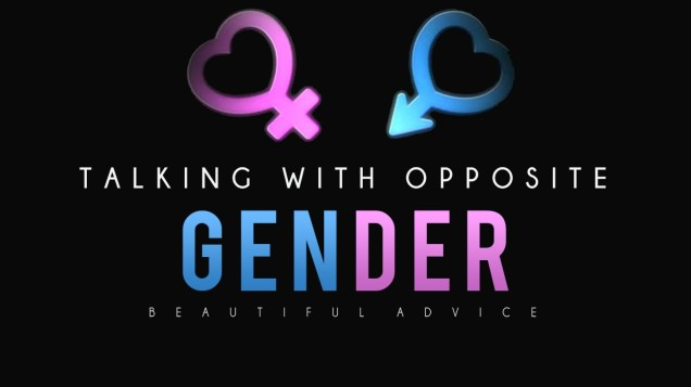 talking with the opposite gender