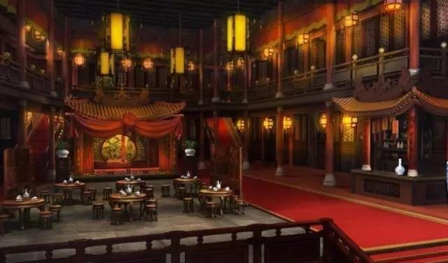 Chinese ancient restaurant